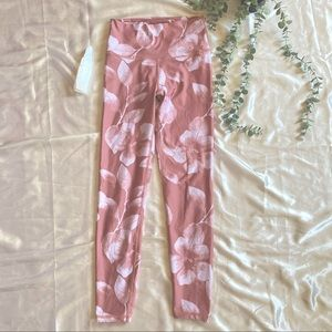 Aerie Floral Leggings Chill Play Move SM